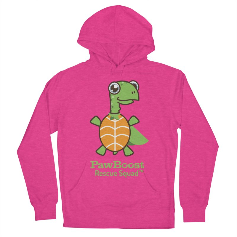 Tommy (turtle) Women's French Terry Pullover Hoody by PawBoost's Shop