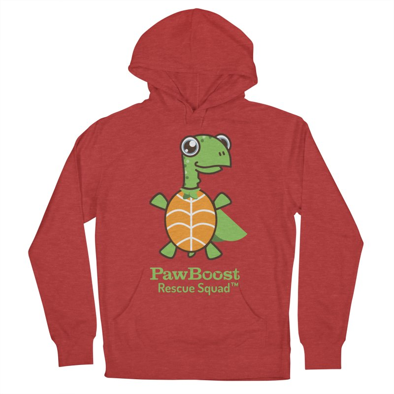 Tommy (turtle) Men's French Terry Pullover Hoody by PawBoost's Shop