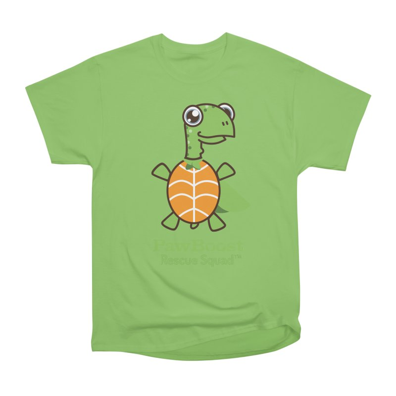 Tommy (turtle) Men's Heavyweight T-Shirt by PawBoost's Shop