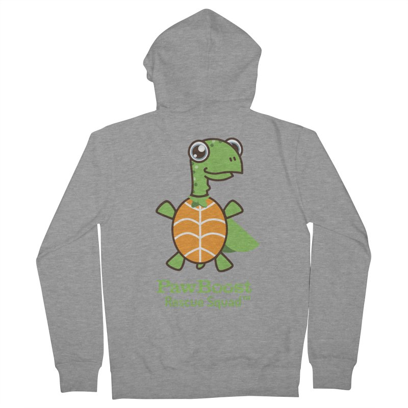 Tommy (turtle) Men's Zip-Up Hoody by PawBoost's Shop
