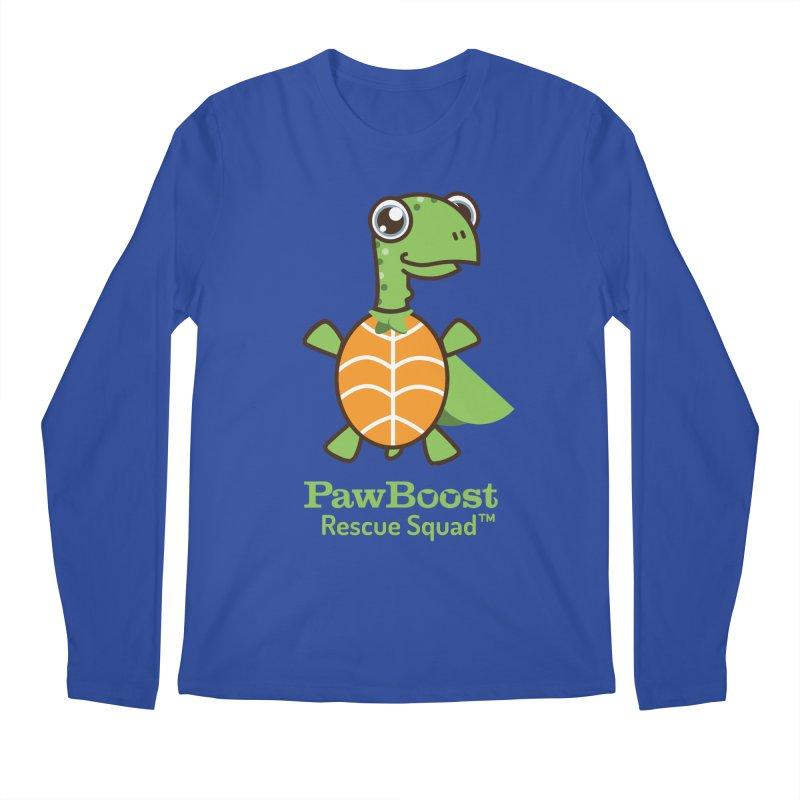 Tommy (turtle) Men's Longsleeve T-Shirt by PawBoost's Shop