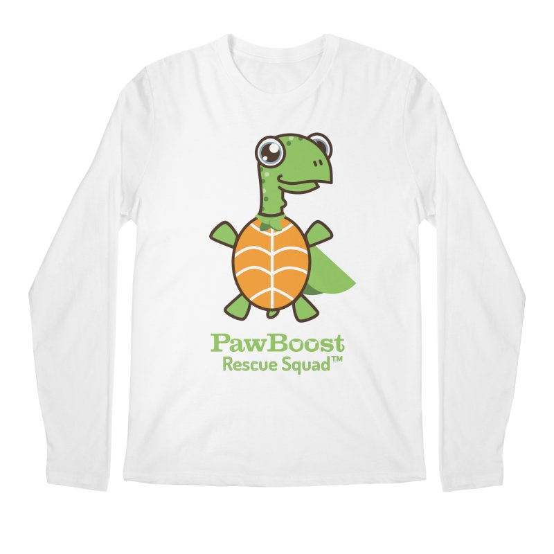 Tommy (turtle) Men's Regular Longsleeve T-Shirt by PawBoost's Shop