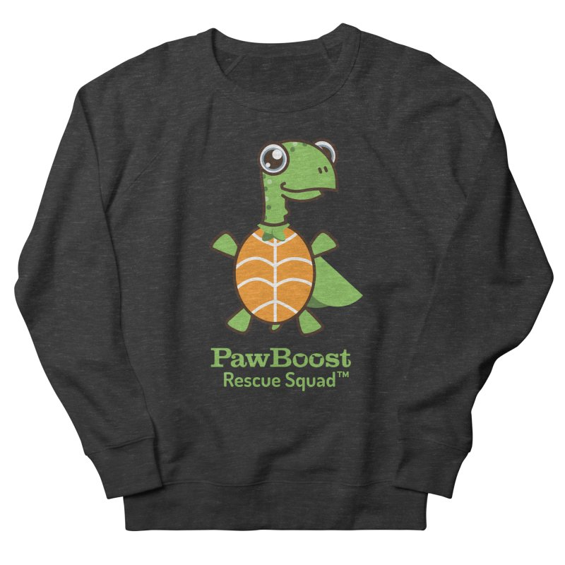 Tommy (turtle) Women's French Terry Sweatshirt by PawBoost's Shop