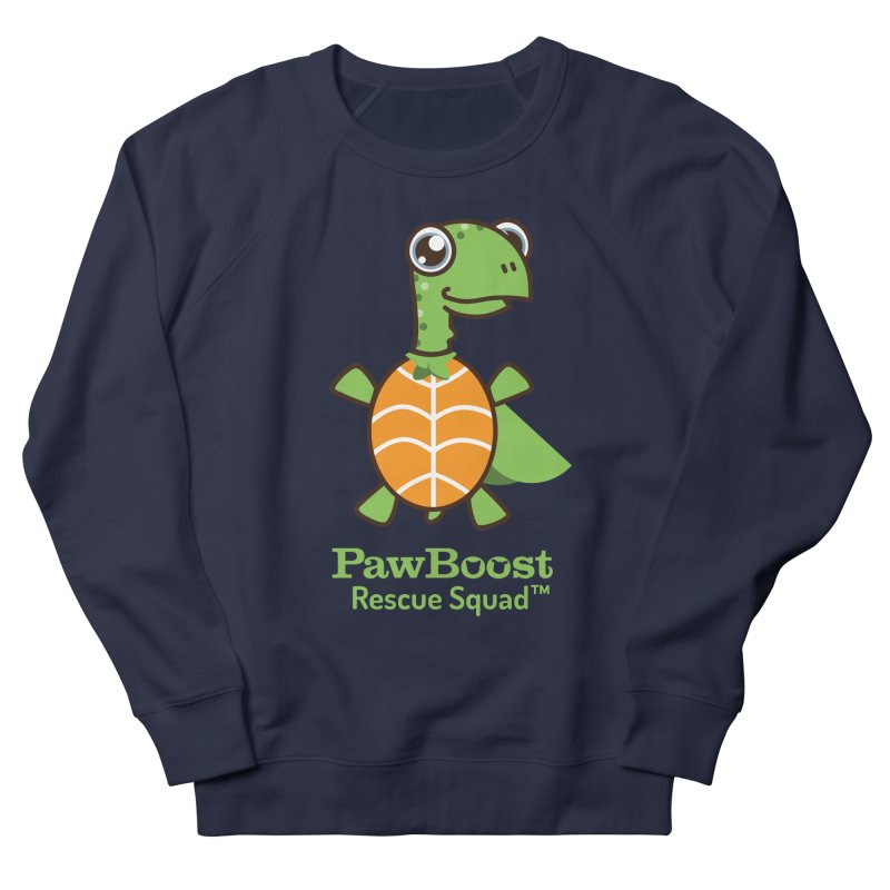 Tommy (turtle) Men's French Terry Sweatshirt by PawBoost's Shop