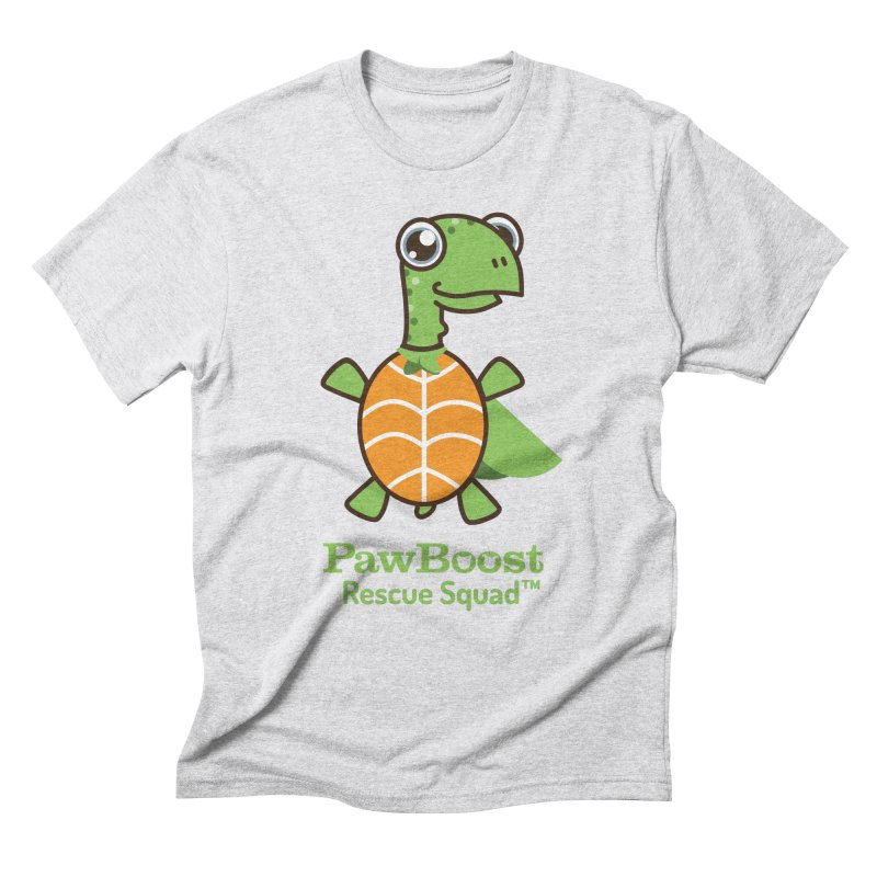 Tommy (turtle) Men's Triblend T-Shirt by PawBoost's Shop