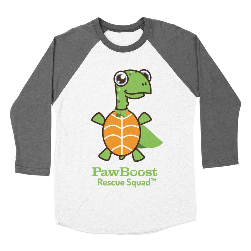 Tommy (turtle) Women's Baseball Triblend T-Shirt by PawBoost's Shop