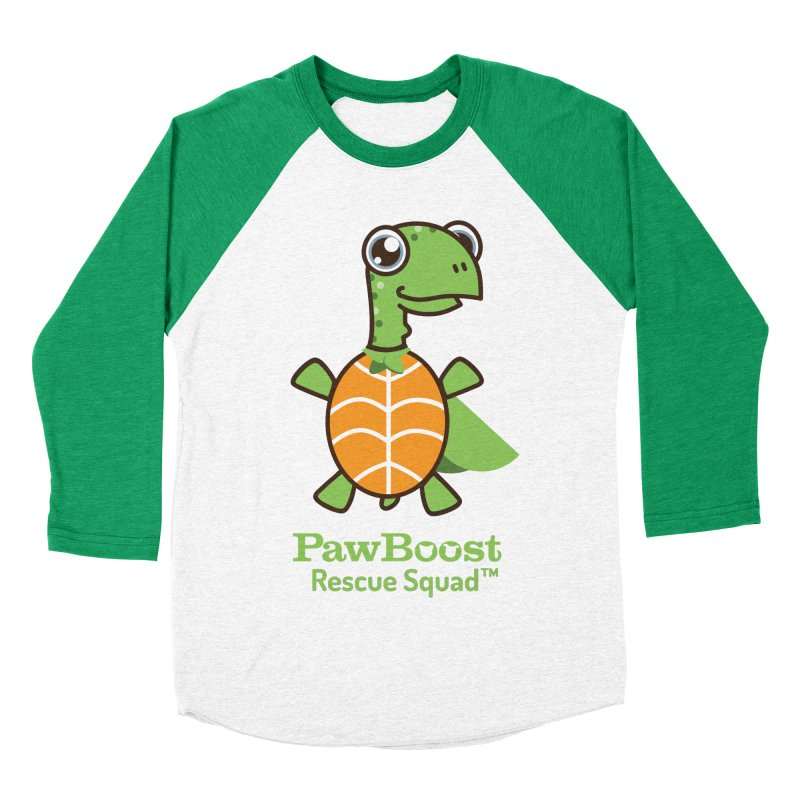 Tommy (turtle) Men's Baseball Triblend T-Shirt by PawBoost's Shop