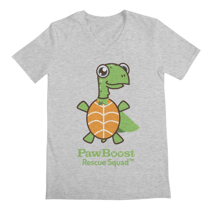 Tommy (turtle) Men's Regular V-Neck by PawBoost's Shop