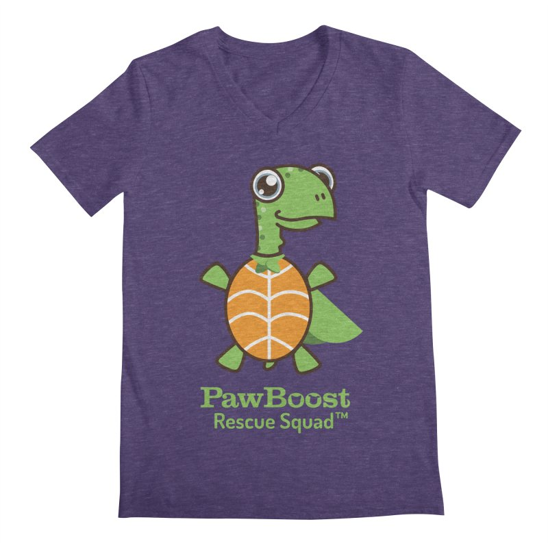 Tommy (turtle) Men's V-Neck by PawBoost's Shop