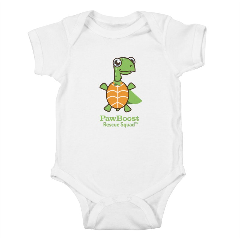 Tommy (turtle) Kids Baby Bodysuit by PawBoost's Shop
