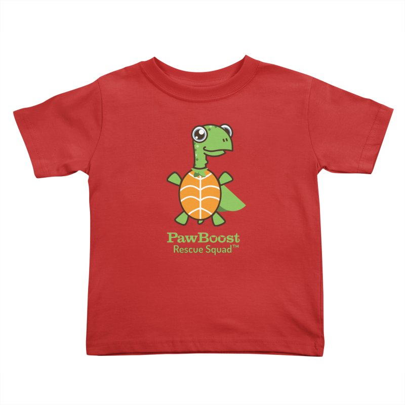 Tommy (turtle) Kids Toddler T-Shirt by PawBoost's Shop