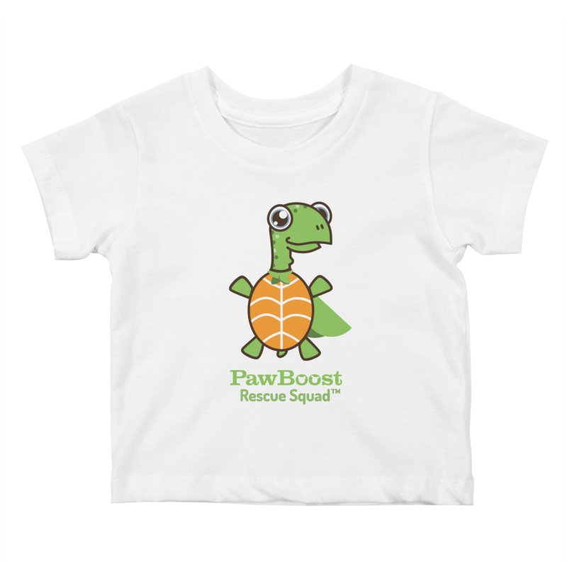Tommy (turtle) Kids Baby T-Shirt by PawBoost's Shop