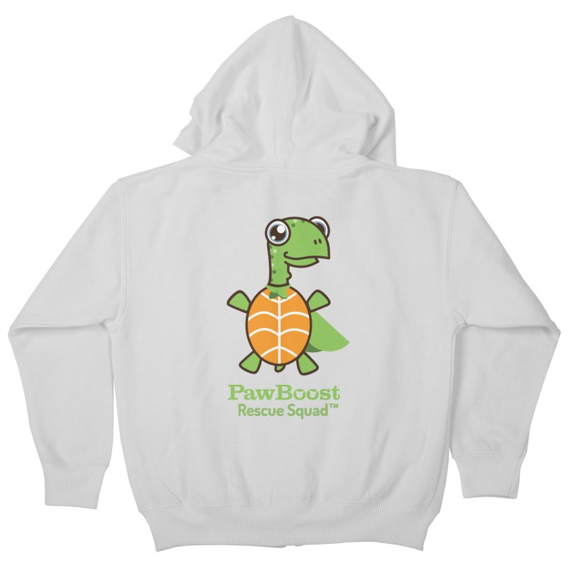 Tommy (turtle) Kids Zip-Up Hoody by PawBoost's Shop