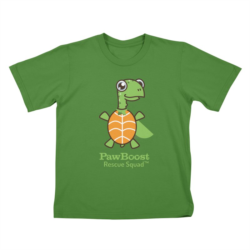 Tommy (turtle) Kids T-Shirt by PawBoost's Shop