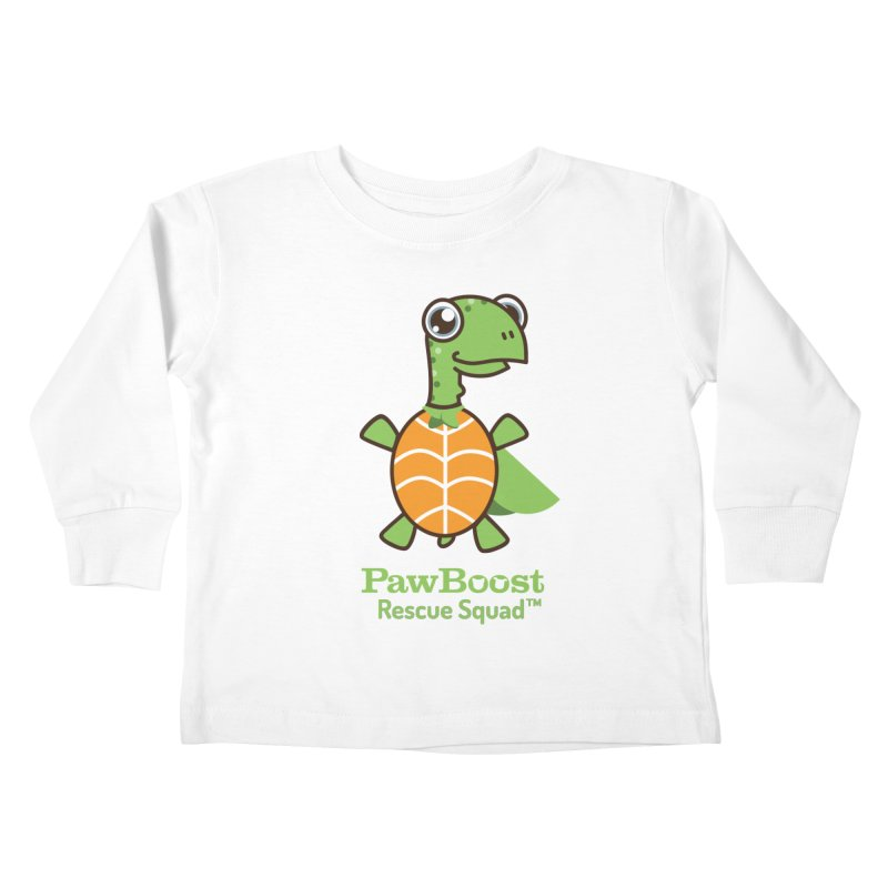 Tommy (turtle) Kids Toddler Longsleeve T-Shirt by PawBoost's Shop