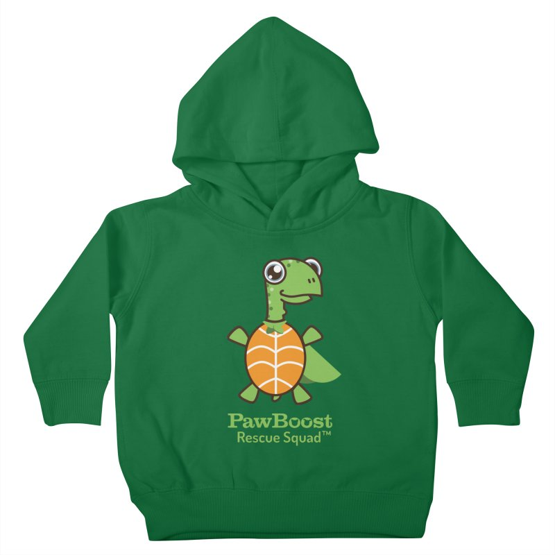 Tommy (turtle) Kids Toddler Pullover Hoody by PawBoost's Shop