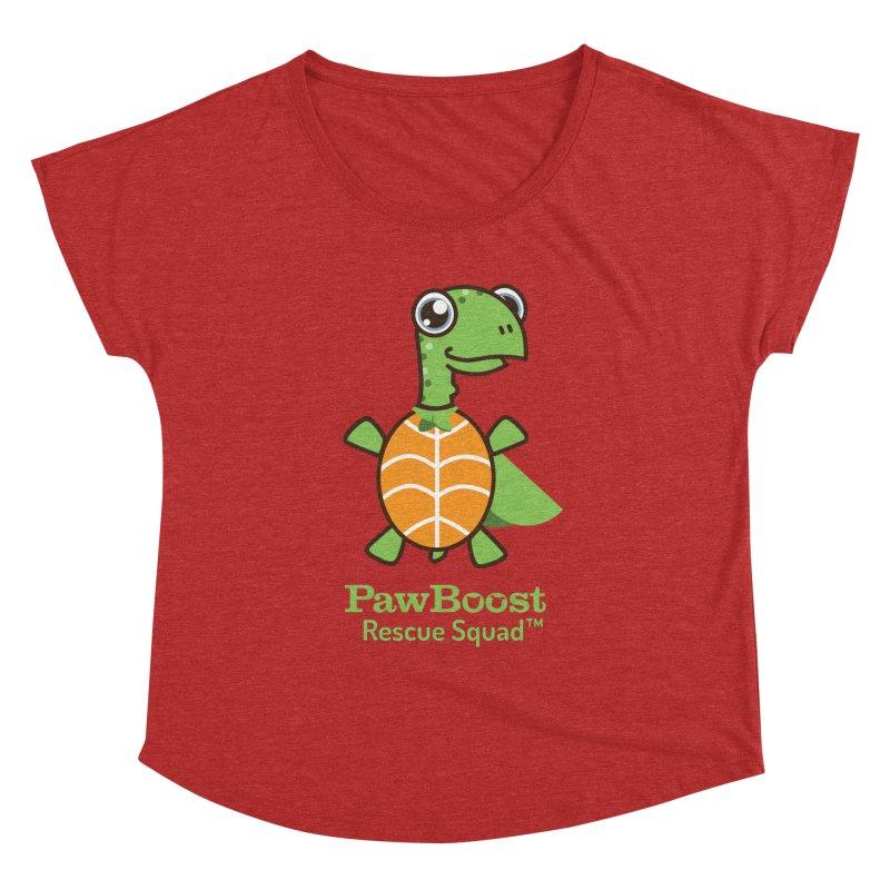 Tommy (turtle) Women's Dolman Scoop Neck by PawBoost's Shop