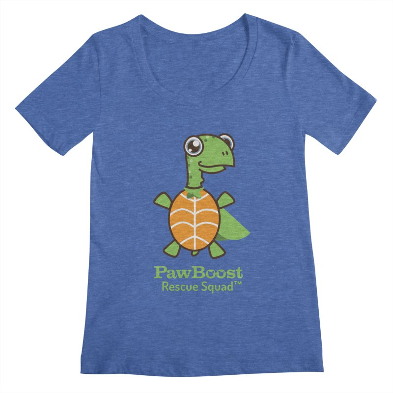 Tommy (turtle) Women's Regular Scoop Neck by PawBoost's Shop