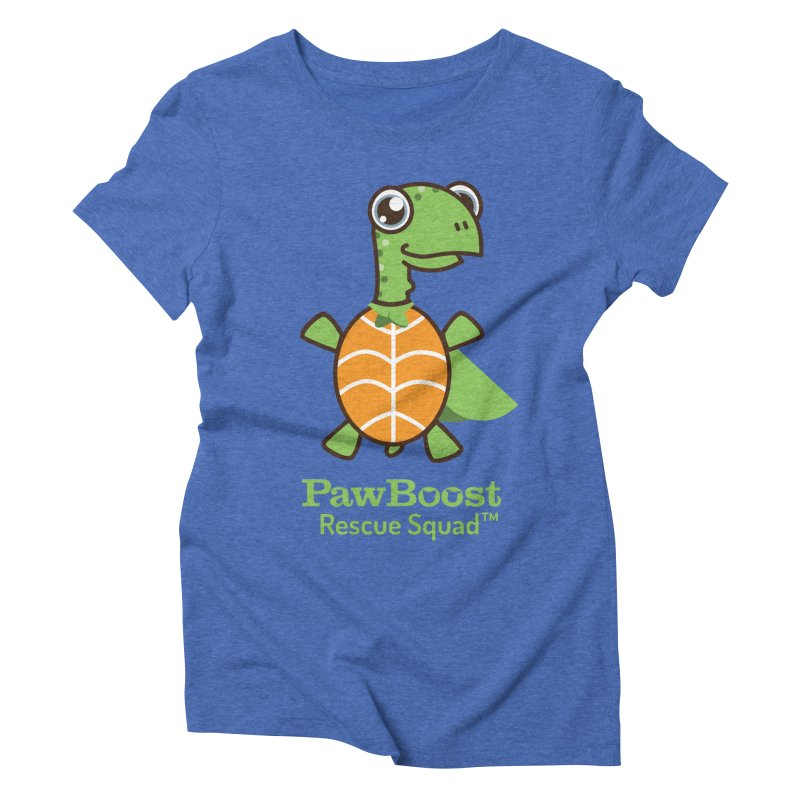 Tommy (turtle) Women's Triblend T-Shirt by PawBoost's Shop