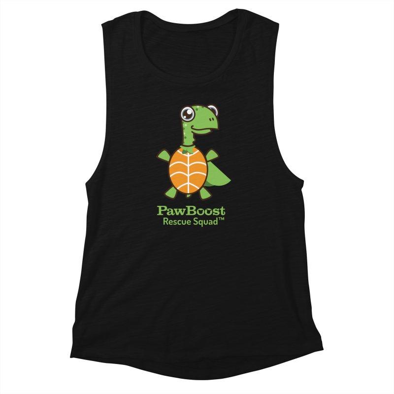 Tommy (turtle) Women's Muscle Tank by PawBoost's Shop