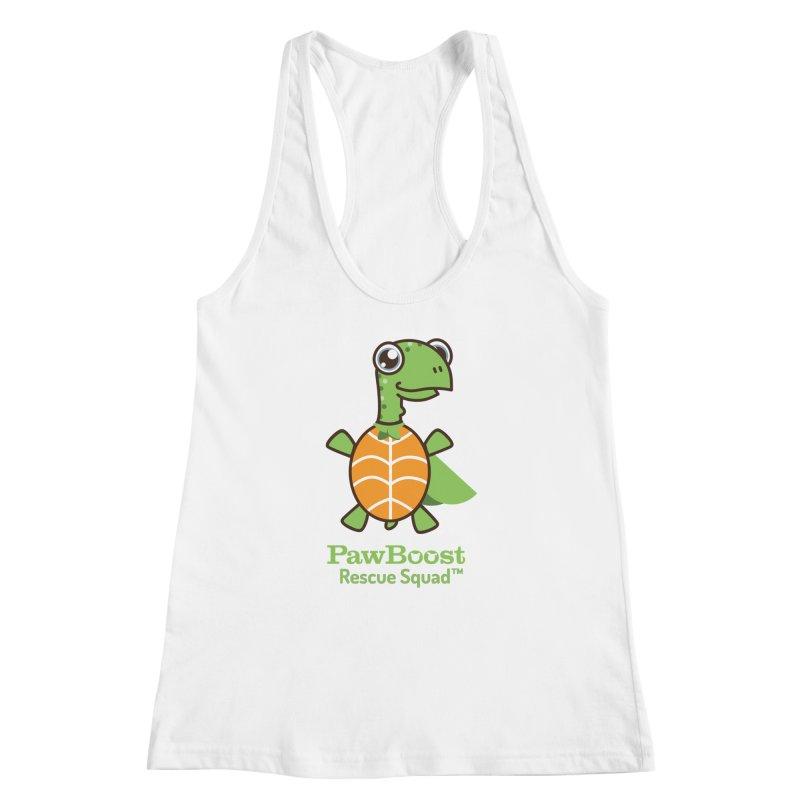 Tommy (turtle) Women's Racerback Tank by PawBoost's Shop
