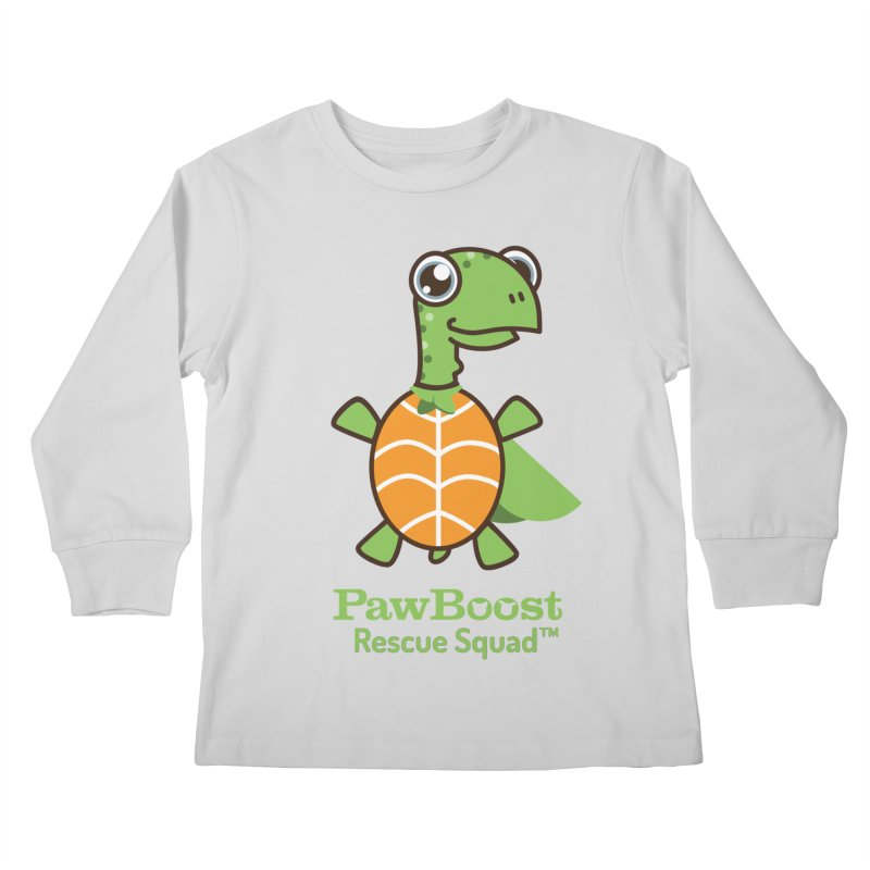 Tommy (turtle) Kids Longsleeve T-Shirt by PawBoost's Shop