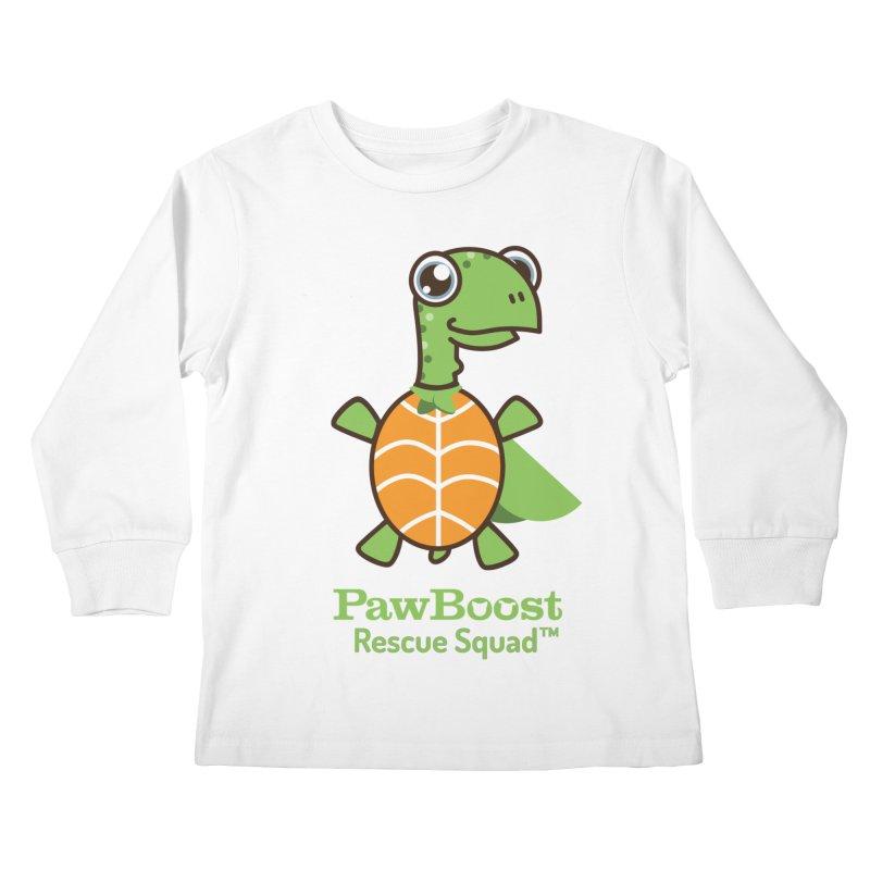 Tommy (turtle) Kids Longsleeve T-Shirt by PawBoost's Shop