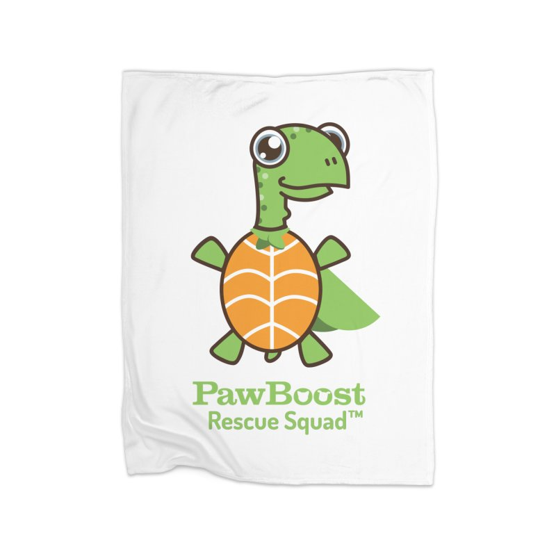 Tommy (turtle) Home Fleece Blanket Blanket by PawBoost's Shop