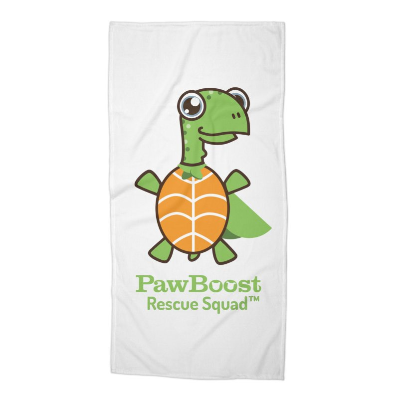 Tommy (turtle) Accessories Beach Towel by PawBoost's Shop