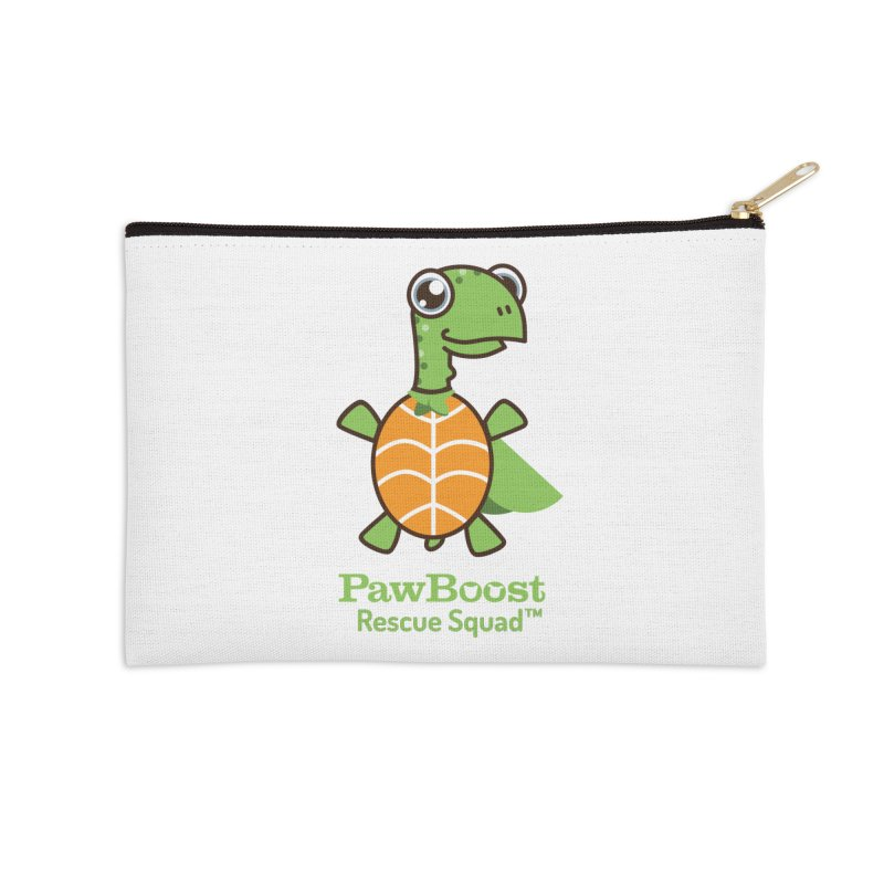 Tommy (turtle) Accessories Zip Pouch by PawBoost's Shop