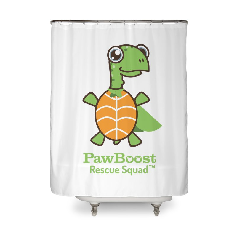 Tommy (turtle) Home Shower Curtain by PawBoost's Shop