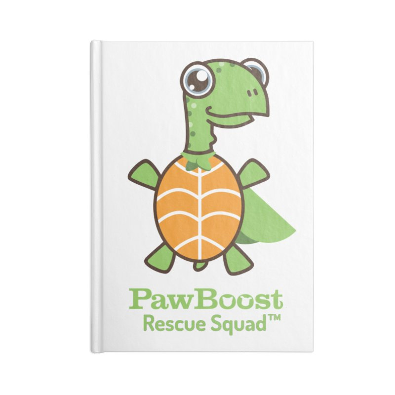 Tommy (turtle) Accessories Notebook by PawBoost's Shop