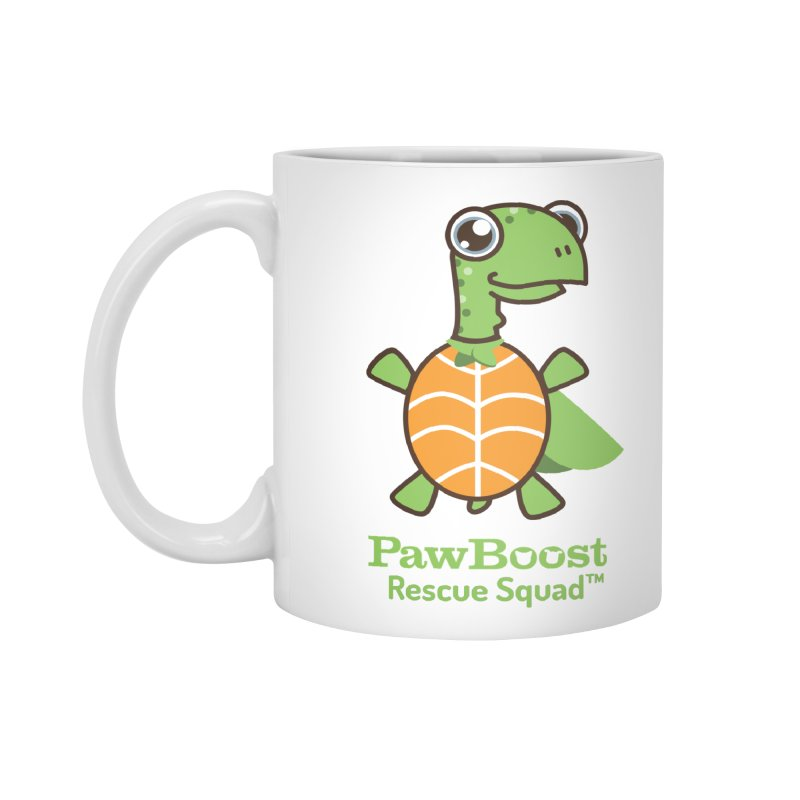 Tommy (turtle) Accessories Mug by PawBoost's Shop
