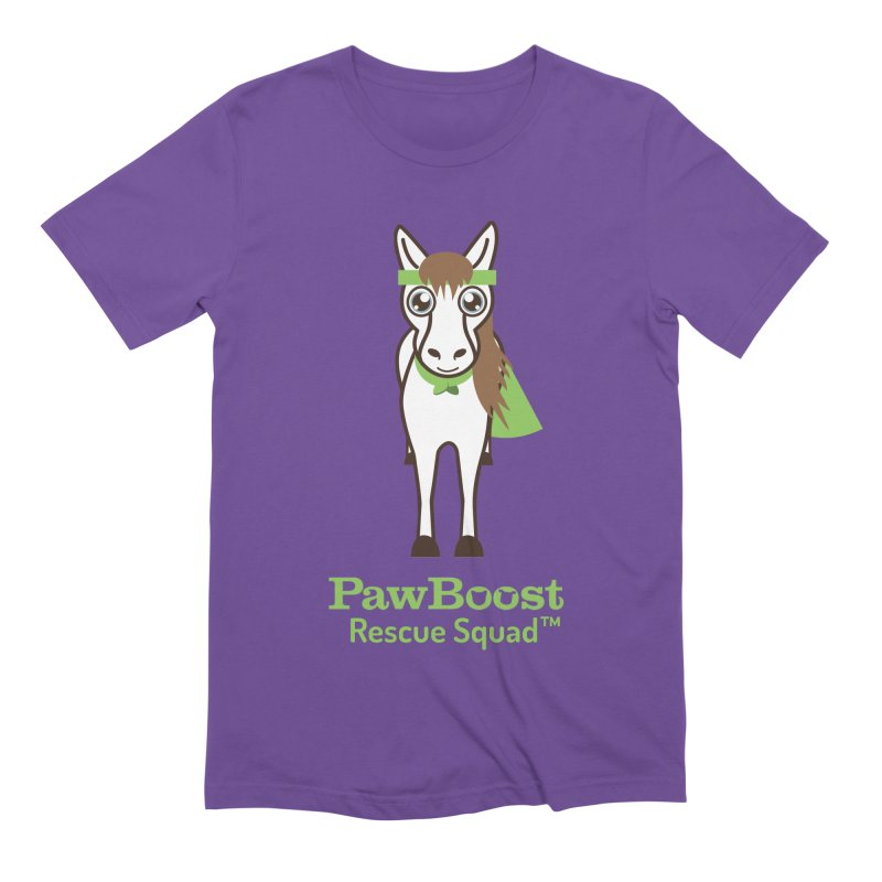 Harry (horse) Men's Extra Soft T-Shirt by PawBoost's Shop