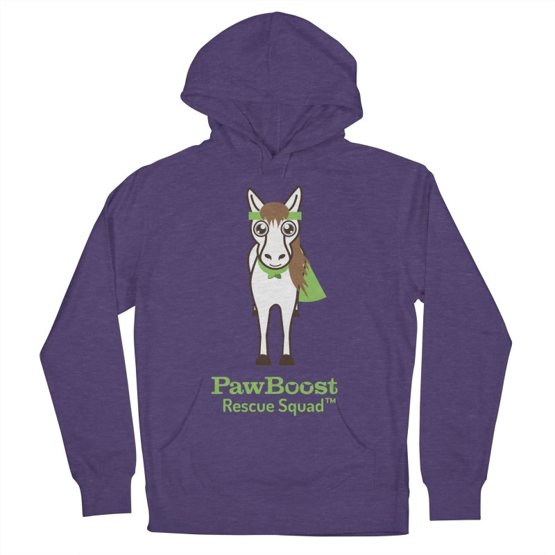Harry (horse) Men's French Terry Pullover Hoody by PawBoost's Shop