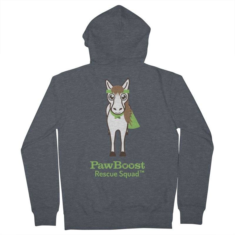 Harry (horse) Women's French Terry Zip-Up Hoody by PawBoost's Shop