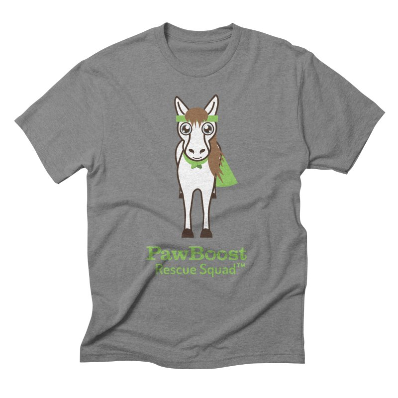Harry (horse) Men's Triblend T-Shirt by PawBoost's Shop