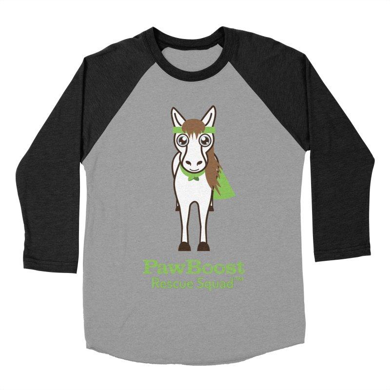 Harry (horse) Women's Baseball Triblend T-Shirt by PawBoost's Shop