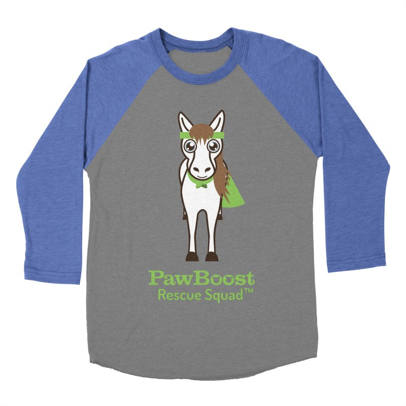 Harry (horse) Men's Baseball Triblend Longsleeve T-Shirt by PawBoost's Shop