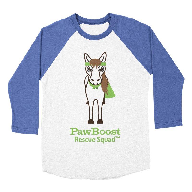 Harry (horse) Men's Baseball Triblend Longsleeve T-Shirt by PawBoost's Shop