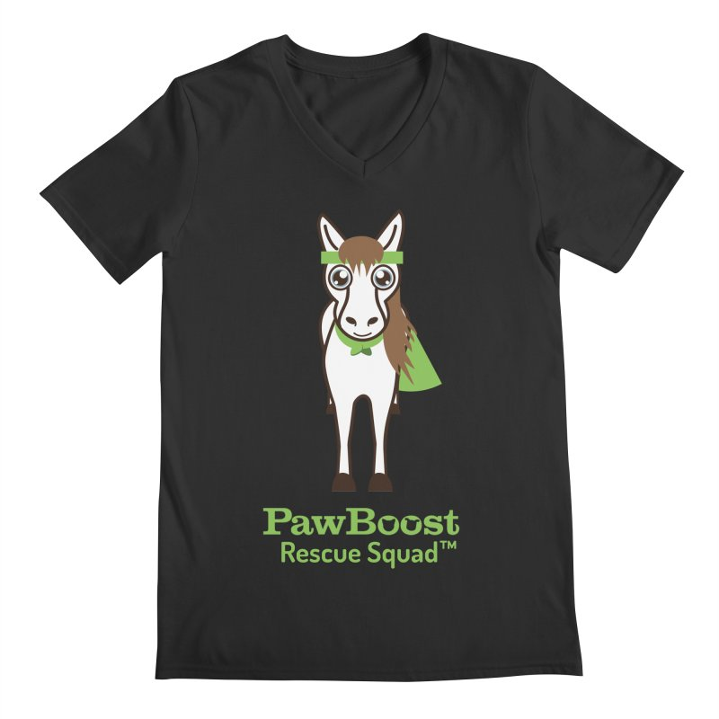 Harry (horse) Men's V-Neck by PawBoost's Shop