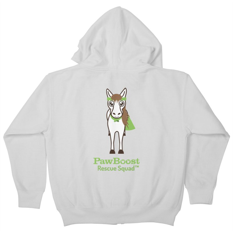 Harry (horse) Kids Zip-Up Hoody by PawBoost's Shop
