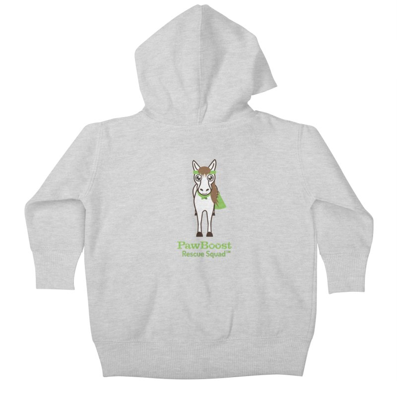 Harry (horse) Kids Baby Zip-Up Hoody by PawBoost's Shop