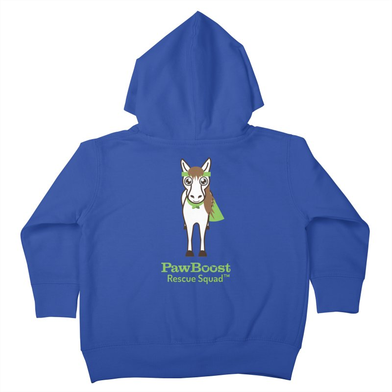 Harry (horse) Kids Toddler Zip-Up Hoody by PawBoost's Shop