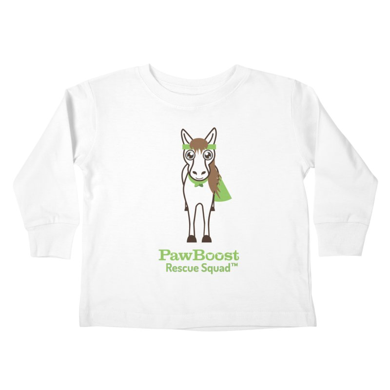 Harry (horse) Kids Toddler Longsleeve T-Shirt by PawBoost's Shop