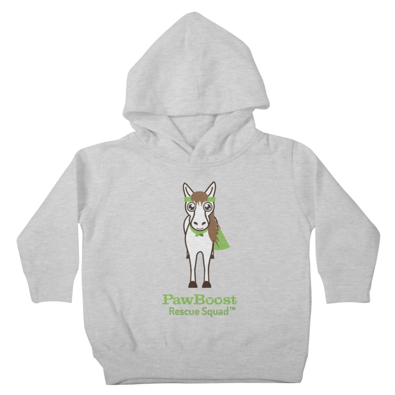 Harry (horse) Kids Toddler Pullover Hoody by PawBoost's Shop
