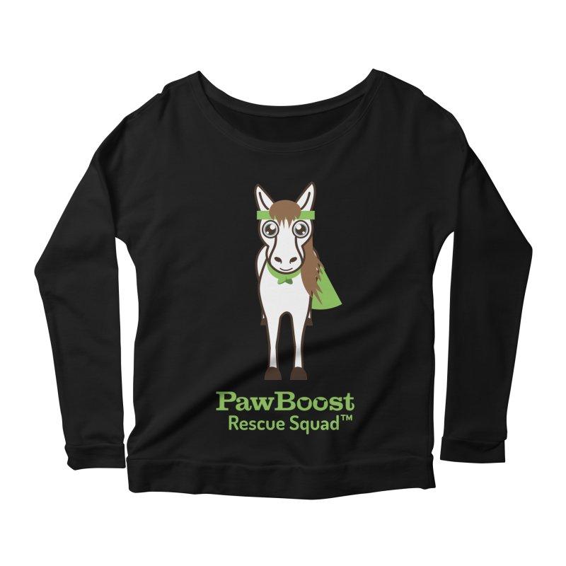 Harry (horse) Women's Scoop Neck Longsleeve T-Shirt by PawBoost's Shop