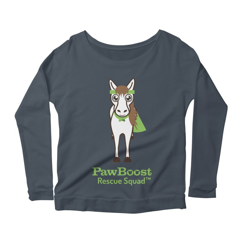 Harry (horse) Women's Longsleeve Scoopneck  by PawBoost's Shop