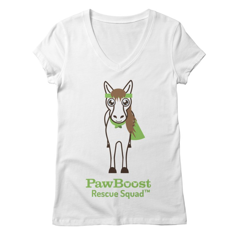 Harry (horse) Women's Regular V-Neck by PawBoost's Shop