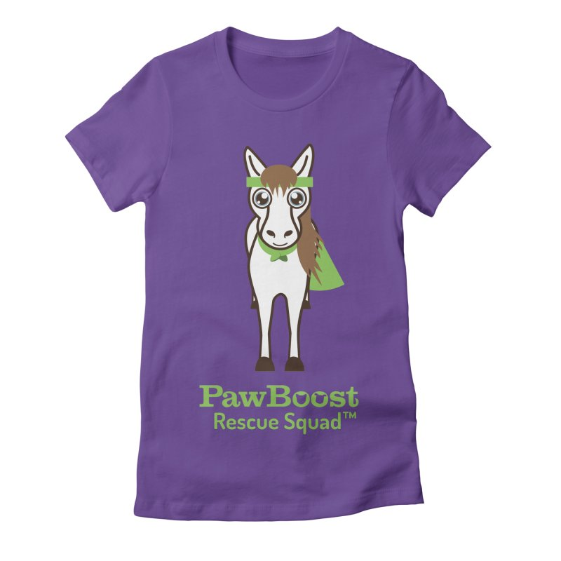 Harry (horse) Women's Fitted T-Shirt by PawBoost's Shop